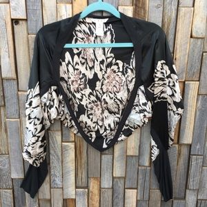 Woman's Cabi jacket shawl bolero top shirt Medium